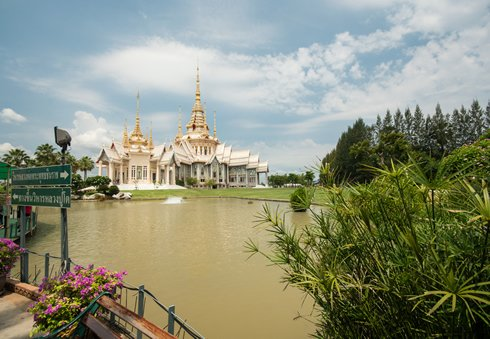 Tempel in Nakhon Ratchisima