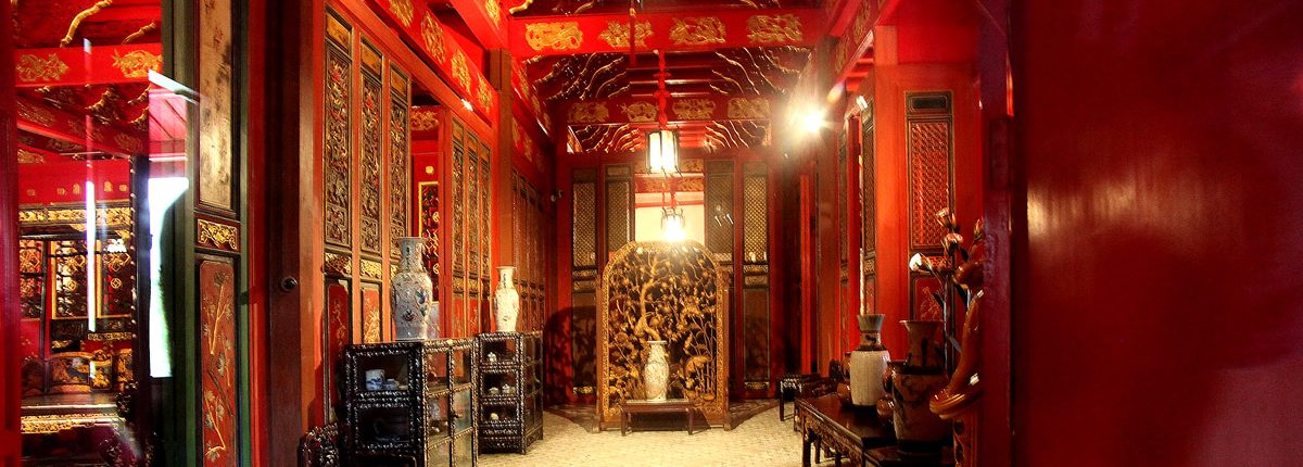 Interior of Bang Pa In Chinese style