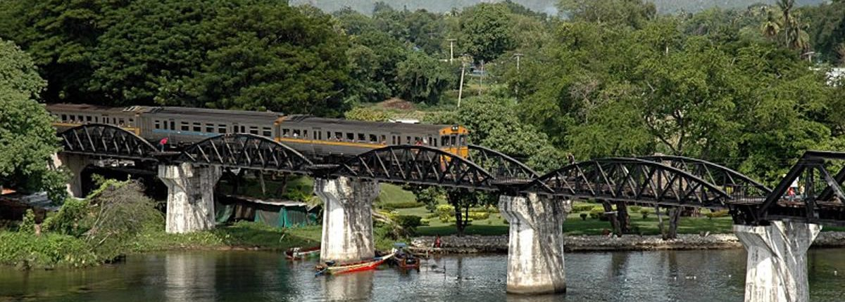 Kanchanaburi River Kwai Bridge Train