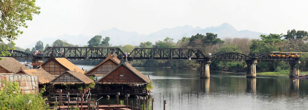 Kanchanaburi River Kwai and Bridge