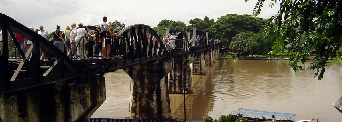 Kanchanaburi The River Kwai Bridge