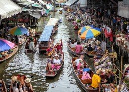 Ratchaburi Floating Market
