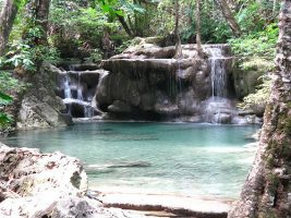 Erawan Pools im Park