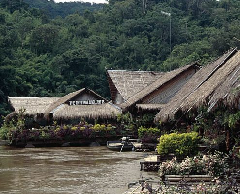 Jungle Rafts Resort am River Kwai