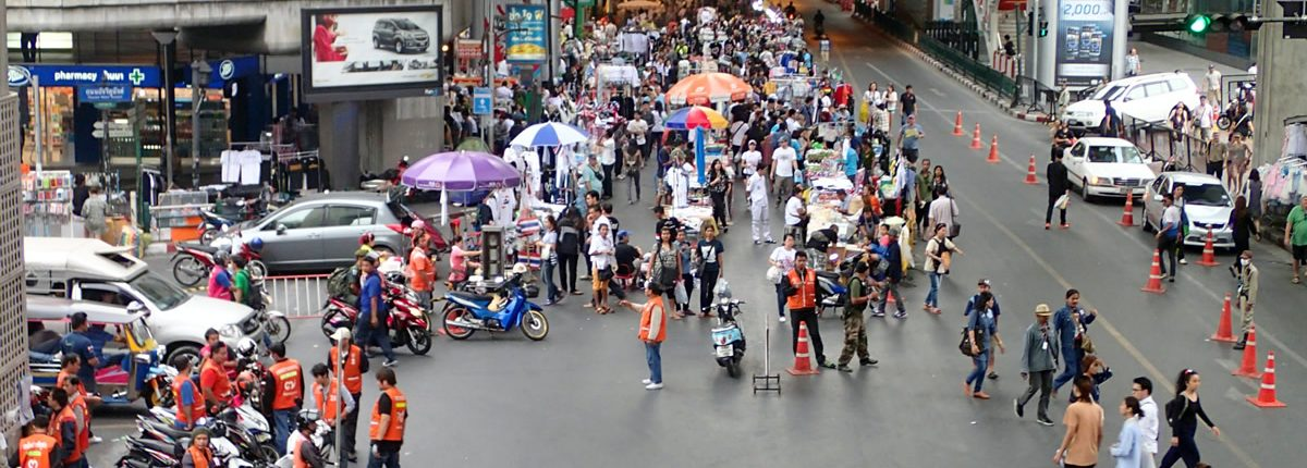 Proteste in Thailand