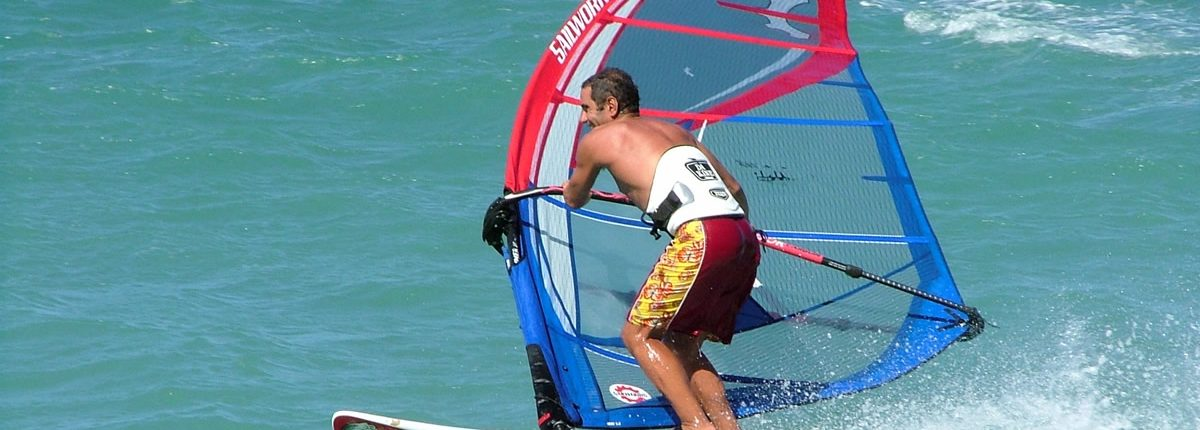 Windsurfen in Thailand