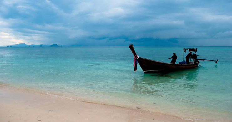 Koh He Coral Island Thailand