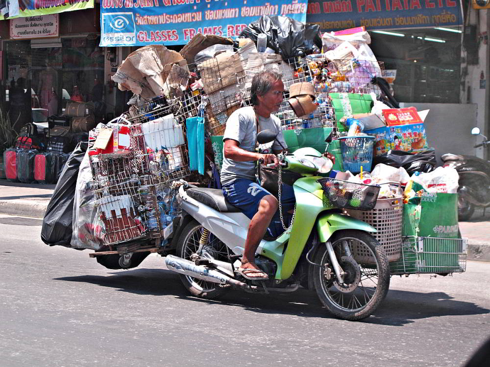 Recycle in Thailand