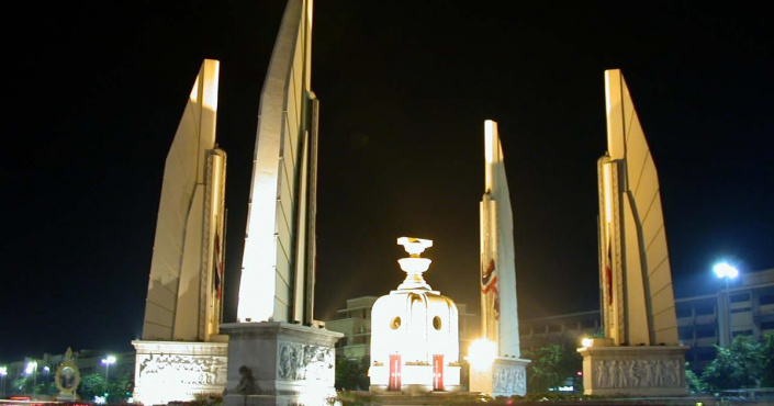 Das Demokratie Monument in Bangkok