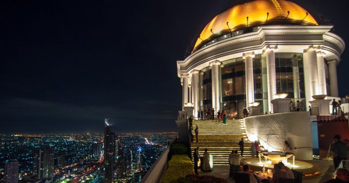 Die Lebua Sky Bar in Bangkok