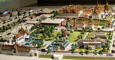 Model of Grand Palace