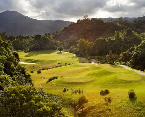 Red Mountain Golfplatz in Phuket