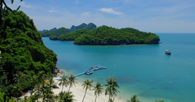 Thailands Nationalparks mit einer Rundreise