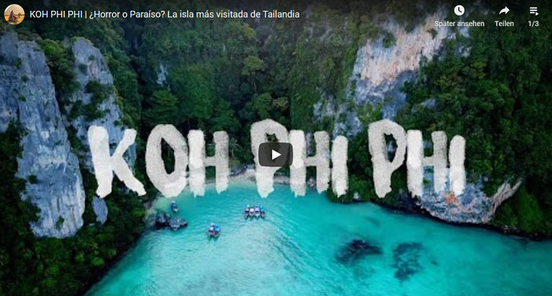 Videos Koh Phi Phi Don