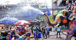 Songkran: Das Thailand Festival im April
