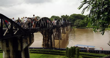 Kanchanaburi The Rive Kwai Bridge