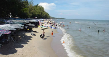 Cha Am Beach Phetchaburi