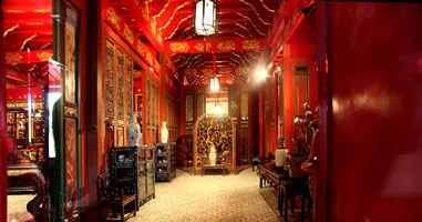 Interior of Bang Pa-In Thailand Chinese style
