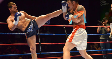 Muay Thai high kick