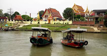 Wat Ayutth am Fluss in Lopburi